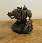 Warhammer 40k - Forgeworld - Chaos Space Marines Nurgle Dreadnought Pro Painted