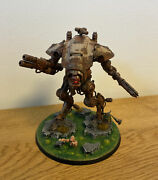 Warhammer 40k - Chaos Space Marines - Death Guard Armiger Warglaive Pro Painted