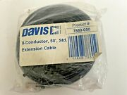 Davis Standard 8-conductor Cable 50ft 7880-050 Anemometer Weather Wizard Monitor