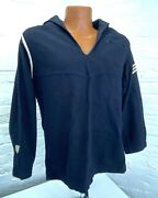 Wwii Us Coast Guard Enlisted Seaman Working Blue Jumper Top