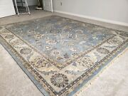 Ethan Allen Hand Knotted Wool Rug