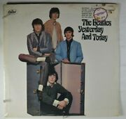 The Beatles Yesterday And Today Rock Lp Capitol Mono T 2552 Trunk Sealed
