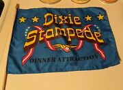 Dolly Parton Dixie Stampede Flag Retired