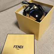 Fendi Christmas Ornament Decoration Round Monster In Box Gift Novelty Japan Used
