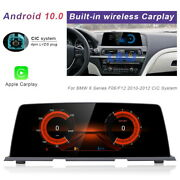 8-core Android Car Gps Wifi Unit Wireless Carplay For Bmw 6 Series F06 F12 2010