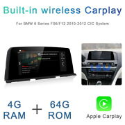 8-core Android Car Gps Unit Player Wireless Carplay For Bmw 6 Series F06 2010-12