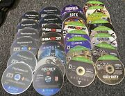 Lot Of 30 Untested Ps4 And Xbox One Game Discs As-is