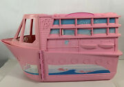 Barbie Cruise Ship Large Pink Dream Boat Dance Party Yacht Vintage Mattel Toy