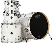Dw Performance Series 4-piece Shell Pack With 22 Bass Drum - White Marine