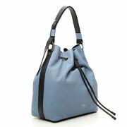 Bag Bucket Gabs Grace M Leather Opaque 11 13/16x11 13/16x5 1/2in Woman Blue