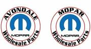 Dodge Ram 1500 Replacement Left And Right Side Veiw Mirror Glass New Oem Mopar