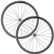 Syncros Capital 1.0 35mm Carbon C/l Disc Tubeless Wheelset Incl Free Tyres