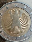 Germany {lot 3} Euro Coins 2002 G 2002 And 2003 Collectible Eagle Deutschland
