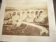 Viaduct Of / The Ponthou Very Big/large Photo Original 1863 By Gustave Croisant