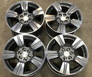 Chevy Colorado Gmc Canyon 18andrdquo Machined Factory Oem Wheels Rims 15-21 5673 2517
