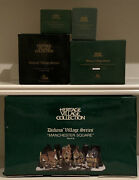 Dept. 56, Dickens Village, Lot Of 5 With Manchester Square Set Of 25 58301