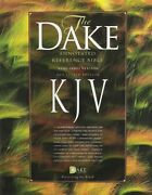 Kjv Dake Annotated Reference Bible, Red Letter Edition, Black Bonded Leather