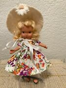 Nancy Ann Storybook Doll 119 Rare Mistress Mary Bisque Not Found In Book 5.5