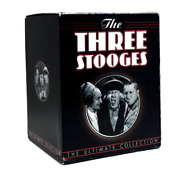 The Three Stooges The Ultimate Collection Anthology Dvd Set