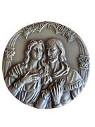 The Immortal Of Love / Pedro And Ines Castro / Bronze Medal 95mm Diameter