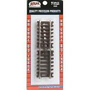 Atlas 525   Code 83   2andprime Straight Track 4 Pack Nickel Silver Rail   Ho Scale