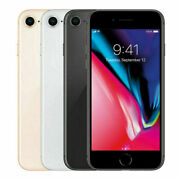 Apple Iphone 8 64gb Gsm Factory Unlocked Smartphone Gray And Silver