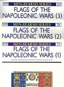 Osprey Men At Arms Series Flags Of The Napoleonic Wars 3 Volume Set 77, 78,115