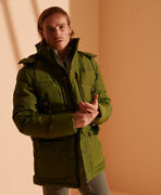 Superdry Mens Expedition Down Parka Coat