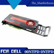 Video Graphic Card For Dell Amd Radeon Hd 7870 Pcie 3.0 X16 2 Gb Gddr5 00ntpd