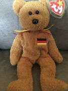Ty Beanie Babie Germania Ultra Rare New Mwmt Orig Owner Investment Quality