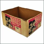 The Beatles 1964 Topps Bubble Gum Cards Shipping Box Usa