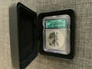 2006 P 20th Anniversary Silver Eagle Icg Rp70 Dcam Reverse Proof With Box