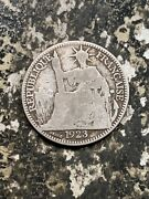 1923-a French Indo China 10 Cents Lotz8552 Silver