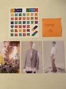 Exo Exo-cbx Blooming Days Preorder Postcards Set And Stickers +freebies