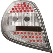 Design Rear Lights Set Left And Right Led For Renault Clio 3 05- Clear Glass