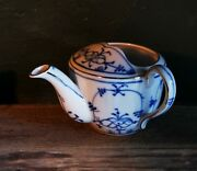 Vintage Porcelain Invalid Sick Feeder Cup With Onion Pattern From C. 1920