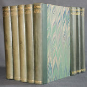 Shakespeare Head Press Works Of Edmund Spenser 1930-1932 Leather Colored Ills