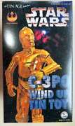 The Tin Age Tin Toys C-3po Wind Up Tin Toy Star Wars From Jp Near Mint Used