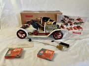 Vintage Mamod Steam Engine Powered Roadster Model Car Toy See Video