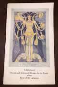 Aleister Crowley Thoth Tarot Card Exhibition Catalog 1941 1st Occult Harris
