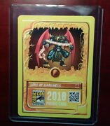 Rare - 2018 Sdcc Splinterlands Cryptocurrency Steemmonsters Card Bitcoin