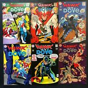 Hawk And The Dove 1968 1 2 3 4 5 6 Fn 6.0 Complete Set Steve Ditko