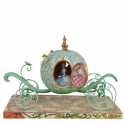 Disney Traditions Enchanted Carriage Cinderella Light Up Figurine 6007055 New