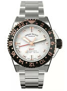 Armand Nicolet Js9-41 Gmt And Date Mens Automatic Watch A487asn-as-ma2481aa