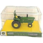 John Deere, Tractor 4020, Ertl Iron, Collection Edition, Farm Toy New/ Sealed