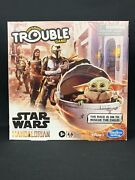Star Wars The Mandalorian Edition Trouble Game Cara Dune The Child Baby Yoda New