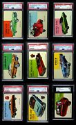 1954 Topps World On Wheels Almost Complete Set 4.5 - Vg/ex+