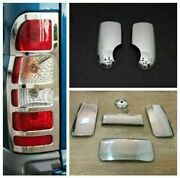 Ford Transit 2000-2013 Chrome Mirror Covers Abs And Door Handle And Rear Light Frame