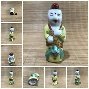 Chinese Porcelain Snuff Bottle Antique Folk Art Carvings Collections Curio Old
