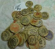 Lot 3 Of 50 Different - Wooden Dollars Not Nickels - 0ver 30 Years Old